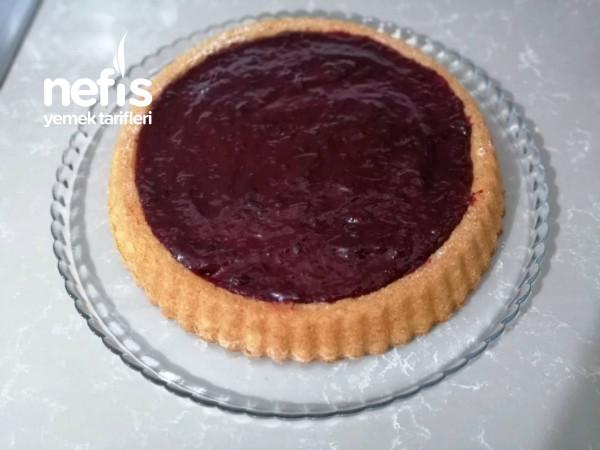 Teremyağlı Mürdüm Erikli Tart Kek