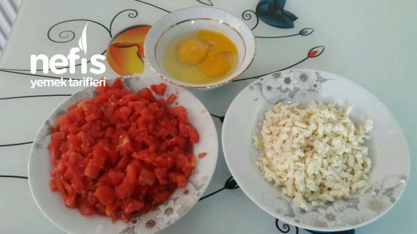 3 Malzeme İle Kahvaltılık