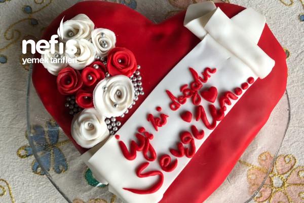 Pastaneleri Aratmayan Kalp Pasta Tarifi
