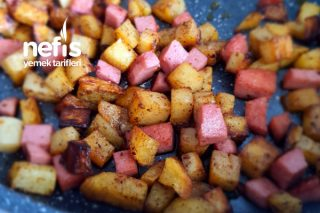 Salamlı Patates Tarifi