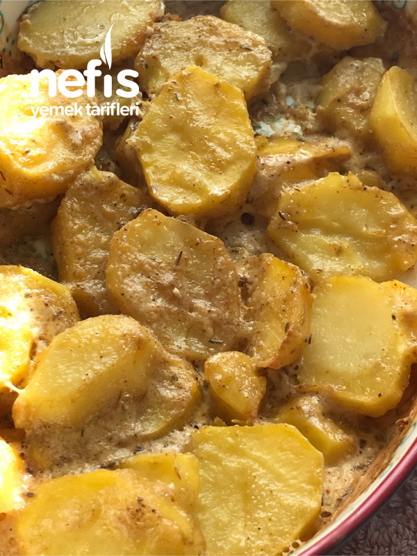 Baharatlı Kremalı Patates