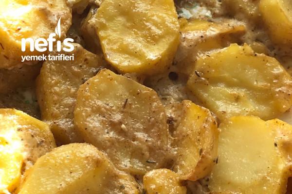 Baharatlı Kremalı Patates Tarifi