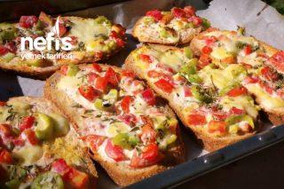 Sağlıklı Kahvaltılık Pizza Tarifi