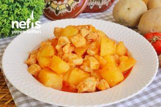 Tavuklu Patates Yemeği (videolu) Tarifi
