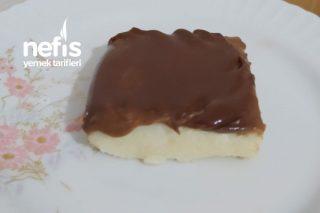 İrmikli Çikolata Ganajlı Tatlı (Aşırı Pratik) Tarifi