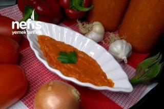 Patlıcanlı Kahvaltılık Sos Tarifi