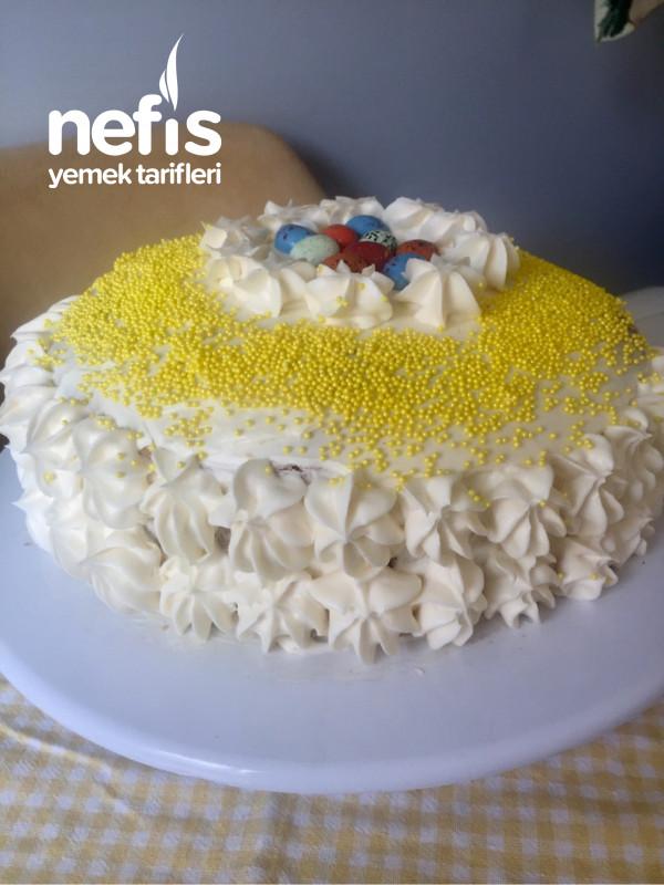 Sarı papatyama sarı pasta