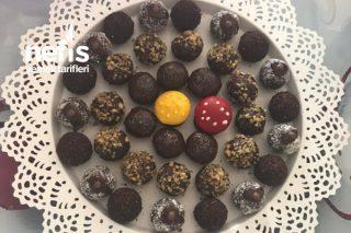 Teremyağlı Çikolata Topları Tarifi