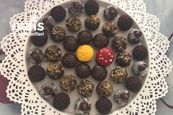 Teremyağlı Çikolata Topları