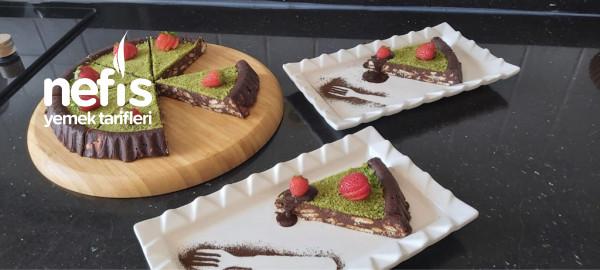 Teremyağlı Pişmeyen Pasta Tarifi /Mozaik Pasta Tarifi /Pratik Pasta Tarifi