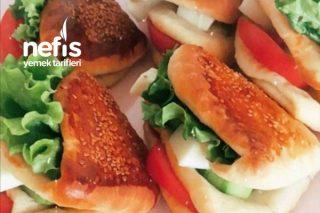 Teremyağlı Sandviç Poğaça Tarifi