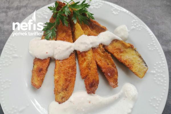 Balık Gibi Patlıcan Kızartması Tarifi