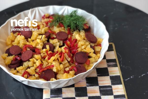 Kahvaltılık Patates Sote Tarifi