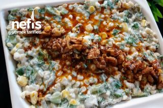 Salatalıklı Buğdaylı Yaz Salatası Tarifi