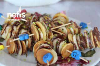 Teremyağlı Mini Pancake (Pankek) Tarifi