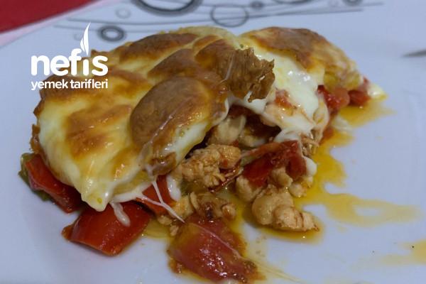 Kaşar Peynirli Tavuk Sote Tarifi