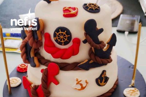 Marini Konsept Teremyağlı Doğum Günü Pastası Tarifi