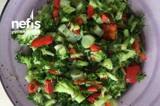 Diyet İçin Uygun Brokoli Salatası Tarifi