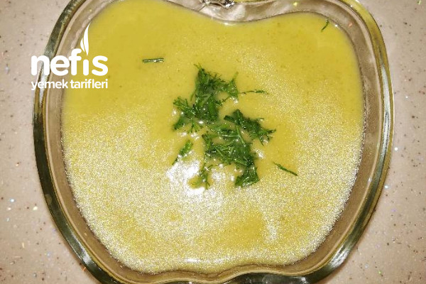 Nefis Terbiyeli Brokoli Çorbası Tarifi