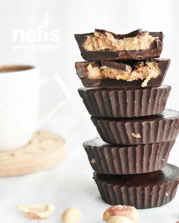 Sağlıklı Reese's Peanut Butter Cups