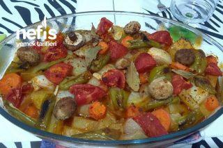 Sebzeli Patates Yemeği Tarifi