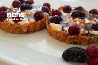 Yulaflı Elmalı Kremalı Tartolet (Videolu) Tarifi