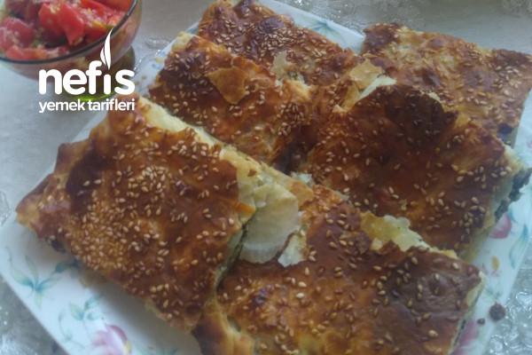 Teremyağlı Kıyır Kıyır Arnavut Böreği Tarifi