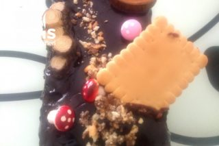 Teremyağlı Pasta (Küçük Bir Yolda Çikolata Aşkı) Tarifi