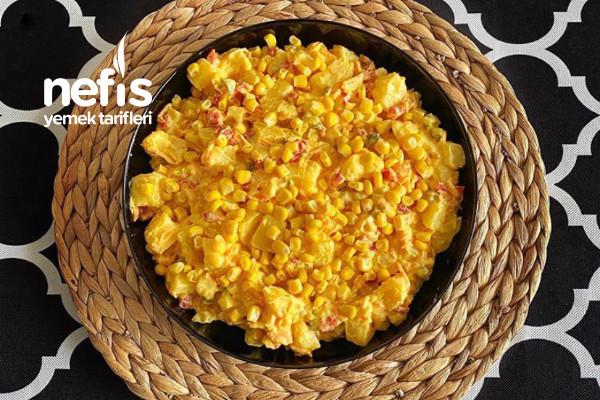 Patates Salatası (Yoğurtlu) Tarifi