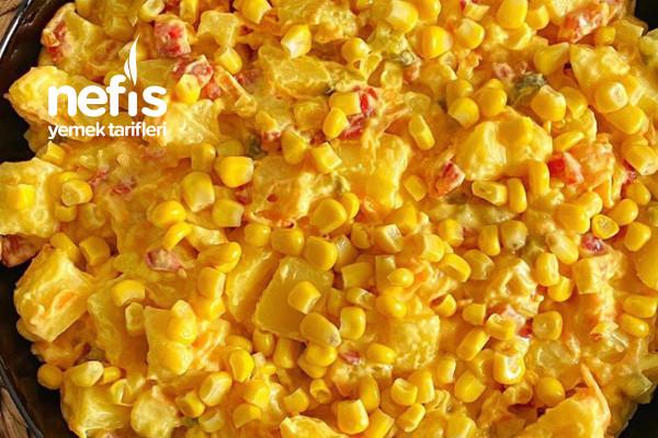 Patates Salatası (Yoğurtlu)