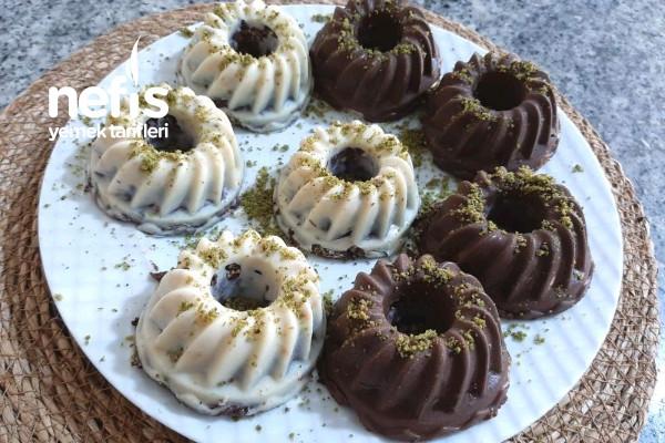 Porsiyonluk Mozaik Pasta (Videolu) Tarifi