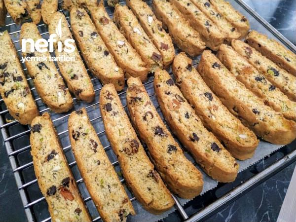 Teremyağlı Biscotti Kurabiyesi