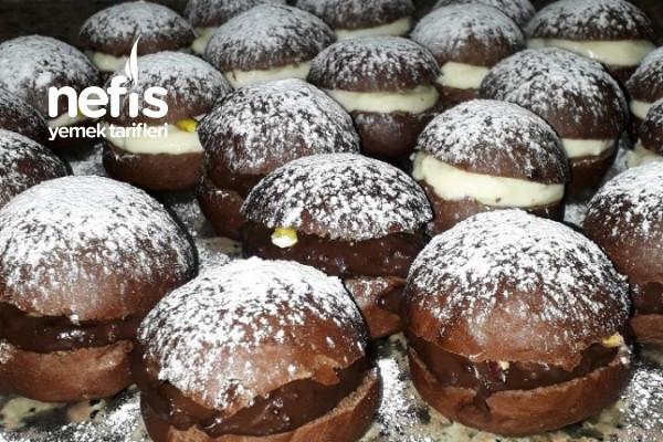Teremyağlı Kakaolu Mini Alman Pastası Tarifi