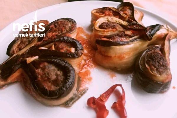 Gül Demeti Patlıcan Kebabı Tarifi