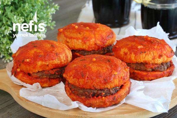 Islak Hamburger (videolu) Tarifi