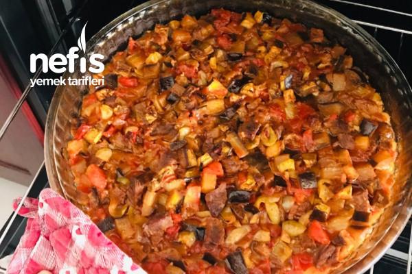Malatya Usulü Fırında Patlıcan Tava Tarifi