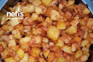 Salçalı Patates Kavurması Tarifi