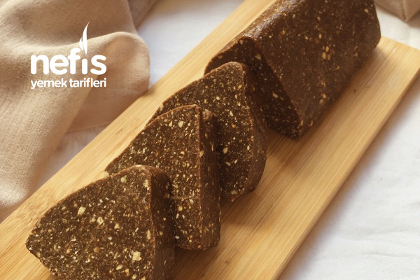 Şekersiz Fit Mozaik Pasta Tarifi