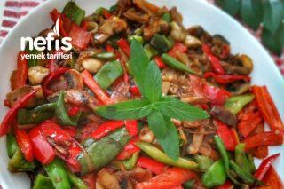 Tereyağlı Sebzeli Mantar Sote Tarifi