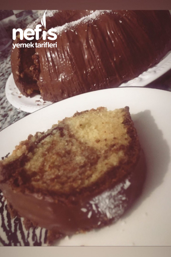 Çikolata Kaplı Kek