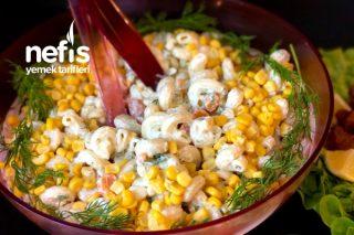 En Pratik Makarna Salatası Tarifi
