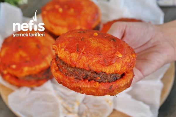 Bol Soslu Ev Yapımı Islak Hamburger (videolu) Tarifi