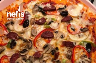 Pizza İncecik Hamurlu Tarifi