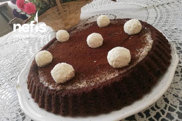Tart Kalıbına Muhallebili Pasta Tarifi