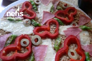 Yulaf Unundan Pizza Tarifi