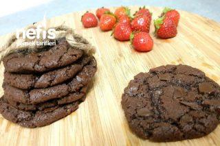 Brownie Tadında Cookies Tarifi