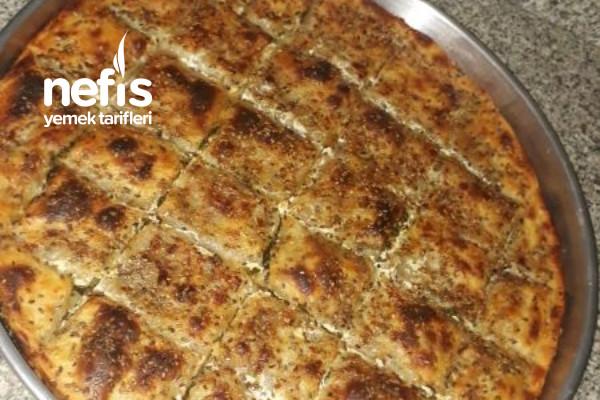 El Açması Ispanaklı Börek (Mis Gibi)