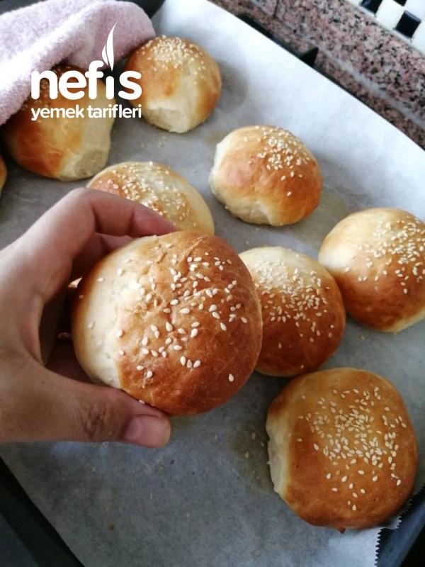 Yumuşacık Hamburger Ekmeği (Master Chef Danilo Nun Yaptığı)