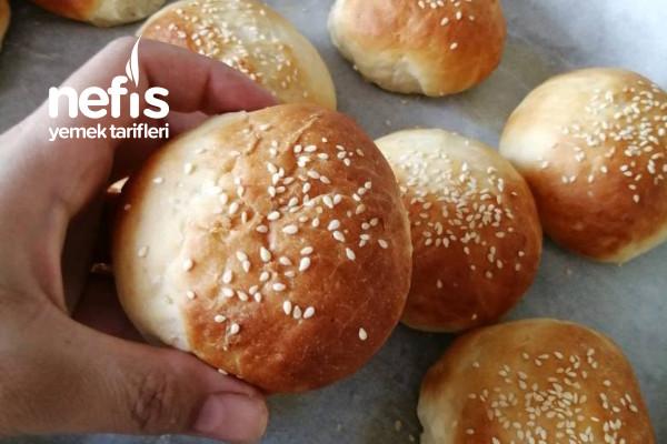 Yumuşacık Hamburger Ekmeği (Master Chef Danilo'nun Yaptığı) Tarifi