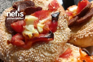 Parmaklarınızı Yiyeceğiniz Simit Tadında Pizza Tarifi